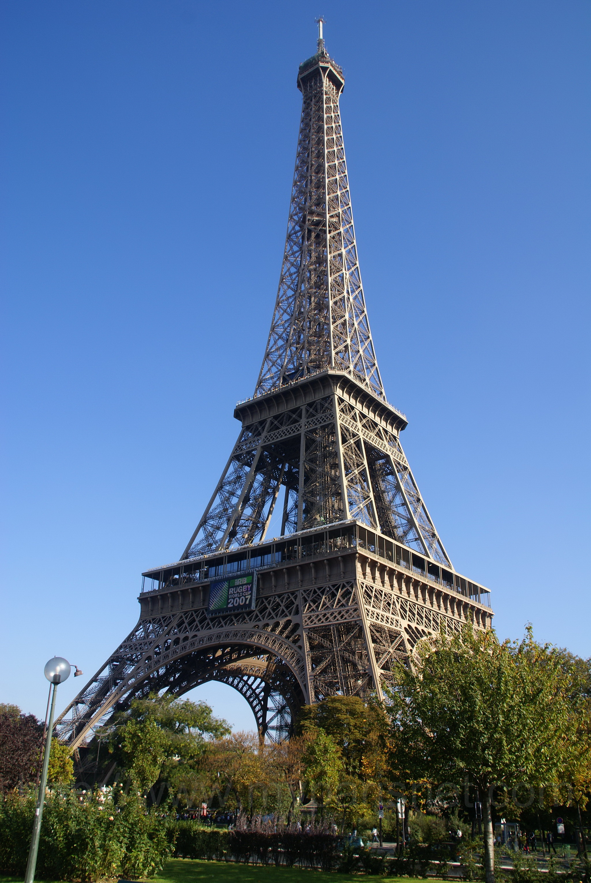 Eiffel Tower in Paris France Wonders of The World